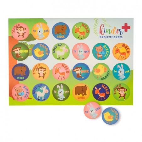 Kinder EHBO verbandtrommel Kanjerstickers