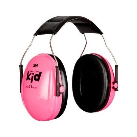 3M oorbescherming roze, voor kinderen