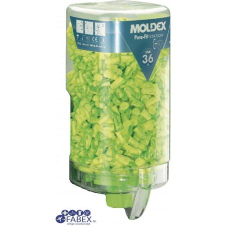 Moldex dispenser met 500 paar oordopjes